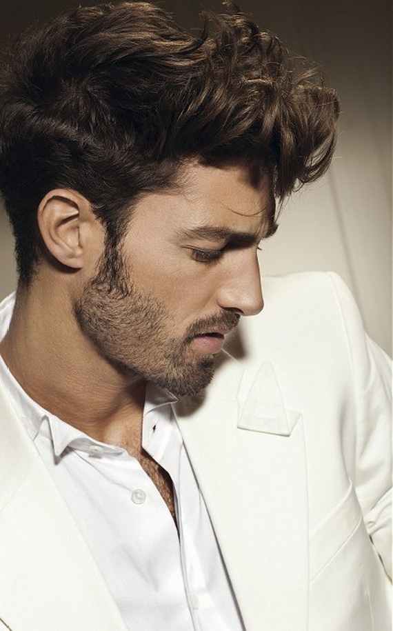 Men's Curly Hairstyles pics