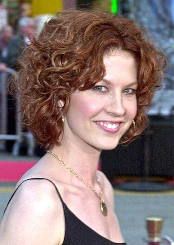25 Best Curly Short Hairstyles For Round Faces Fave HairStyles