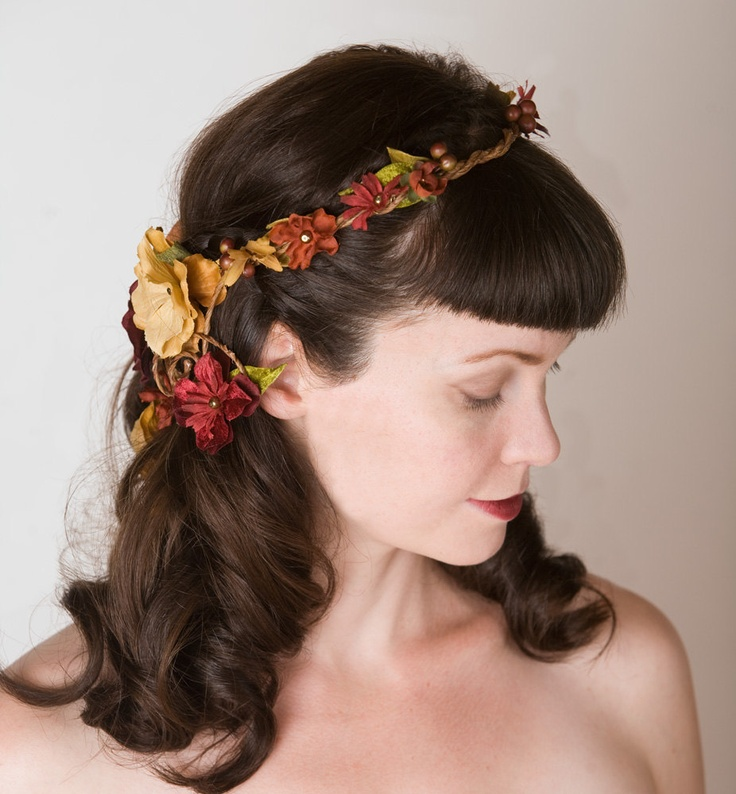 Awesome Fall Wedding Hairstyles