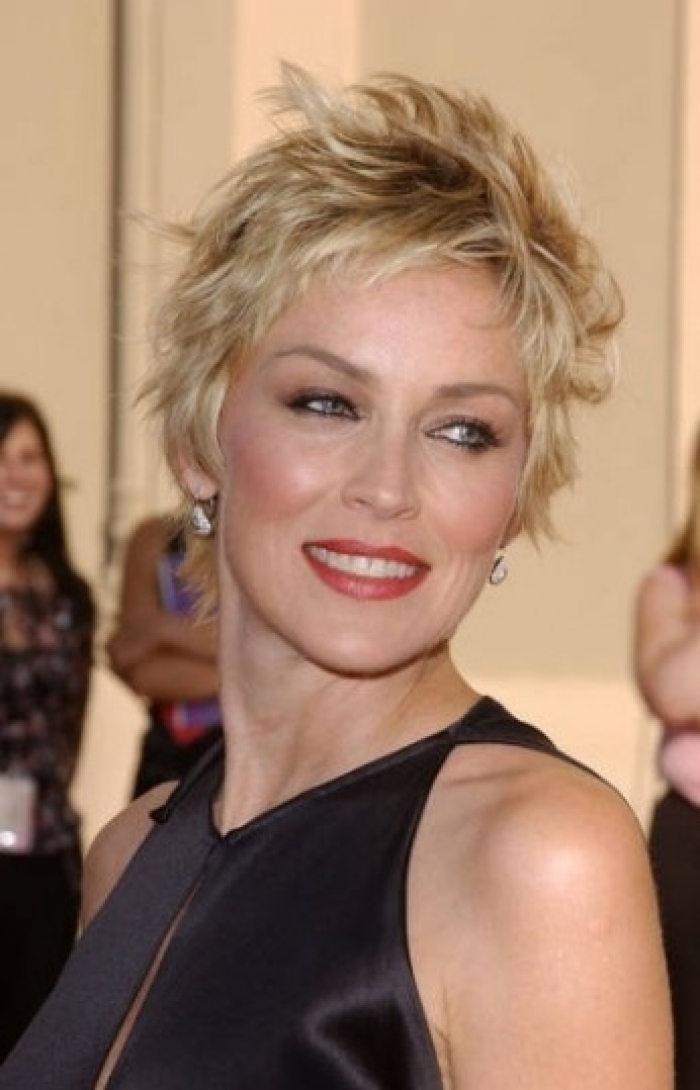 Short Hairstyles 2017 2018: Short Shaggy Hairstyles For Women Over 50