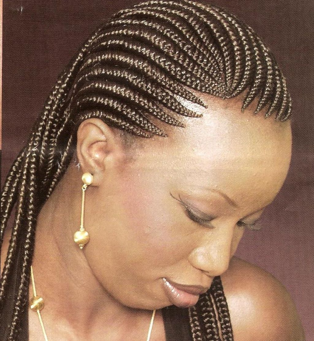 Surprising Styles To Do With African Braids Braids Hairstyle Inspiration Daily Dogsangcom