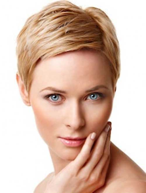 Nice Short Pixie Hairstyles for Fine Hair