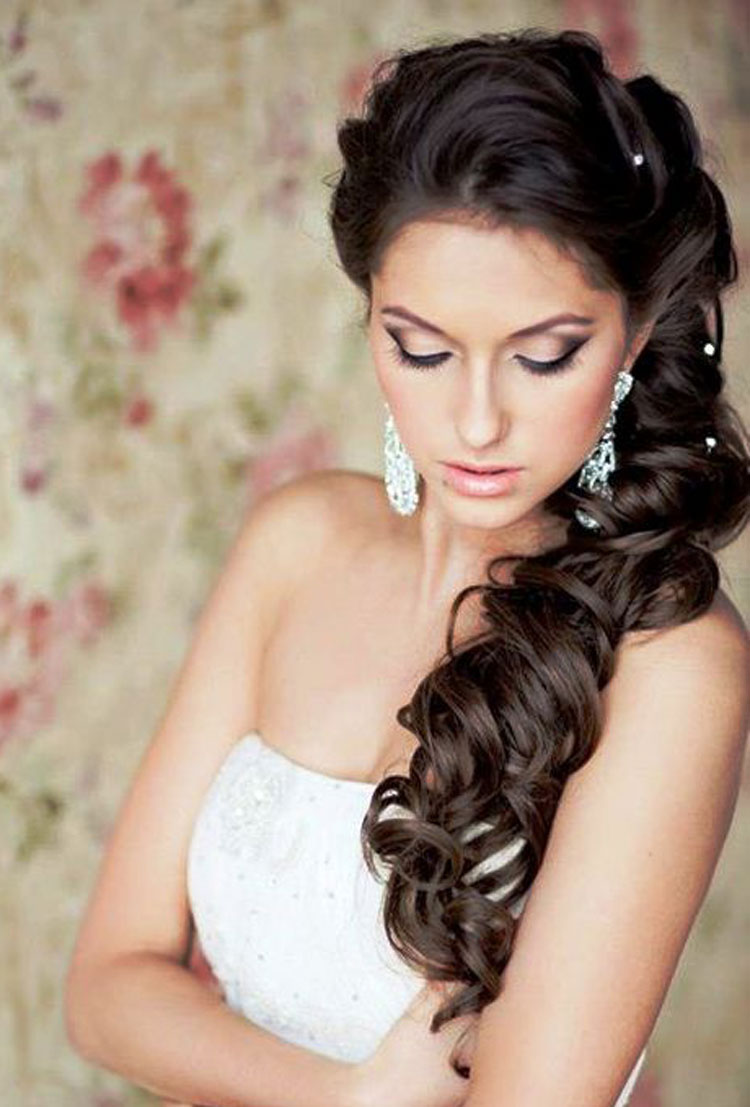wedding hairstyles for long hair fave hairstyles. Black Bedroom Furniture Sets. Home Design Ideas