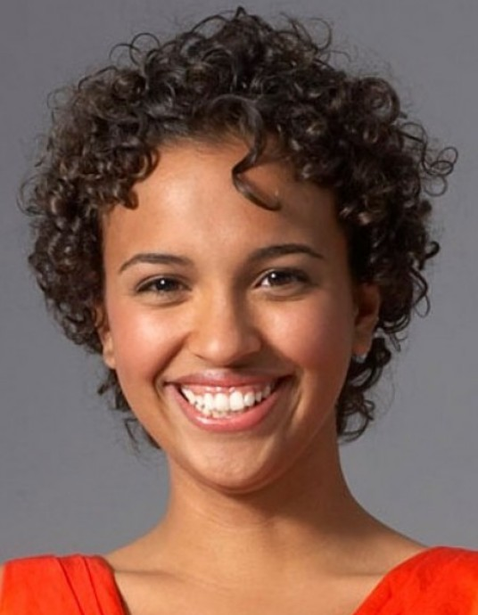 Short Hairstyles for Black Women Curly