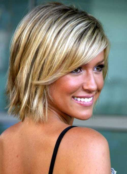 Short Hairstyles for Long Faces and Thin Hair