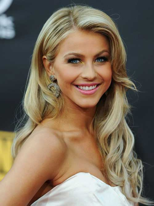 Simple Blonde Prom Hairstyle for Long Hair