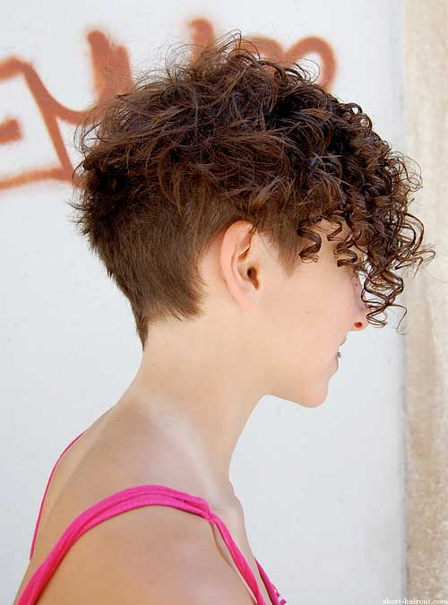 Hairstyles For Really Curly Hair : Short curly hairstyles to look amazing fave