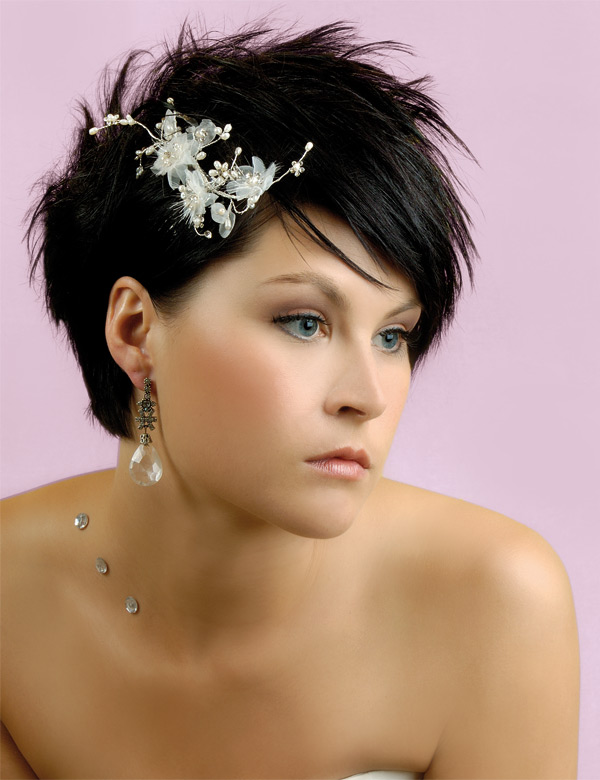 Outstanding Wedding Hairstyles For Short Hair Women39S Fave Hairstyles Short Hairstyles Gunalazisus