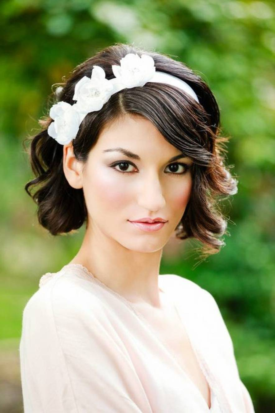 Wedding Hairstyles For Short Hair Women 39 S Fave Hairstyles