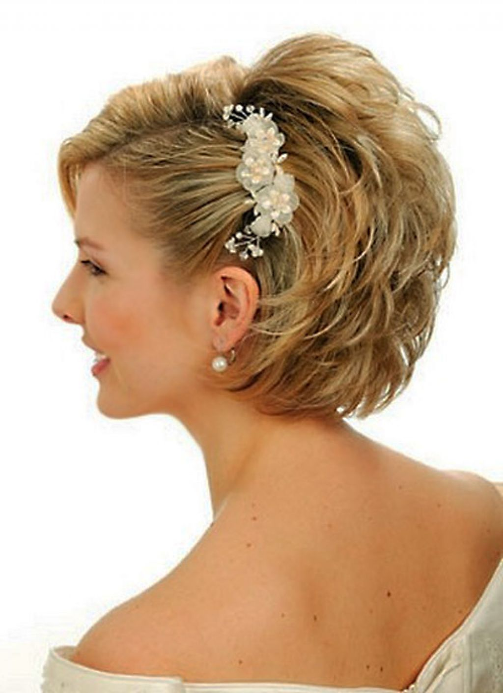 Wedding Hairstyles For Medium Hair With Bangs : Gallery for gt wedding hairstyles short hair with bangs