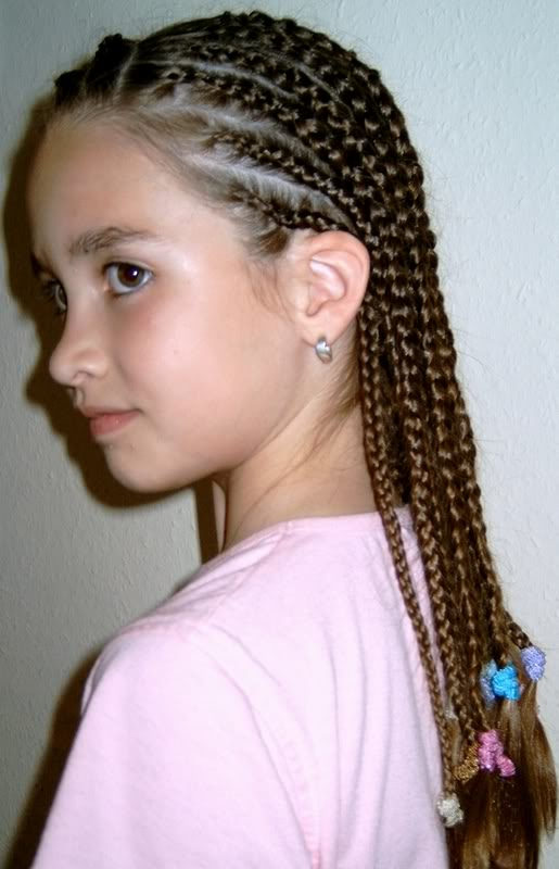 White Girl Cornrow Hairstyles