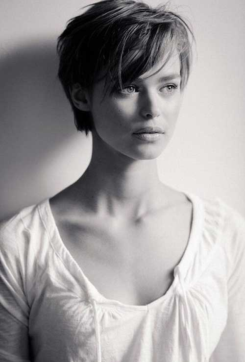 Birgit Kos Short Pixie Haircuts with Long Bangs