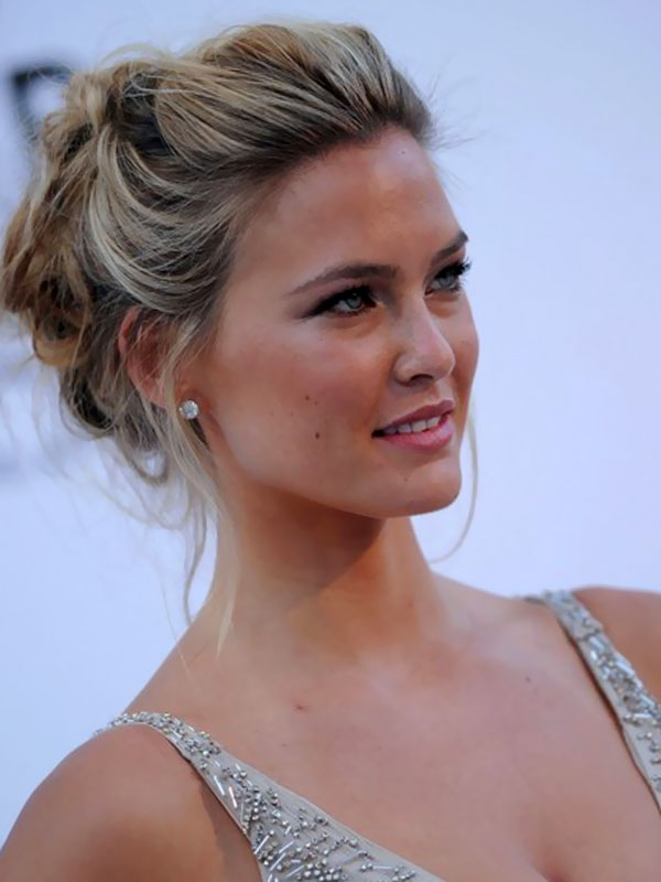 Messy Updo Hairstyles for Medium Hair