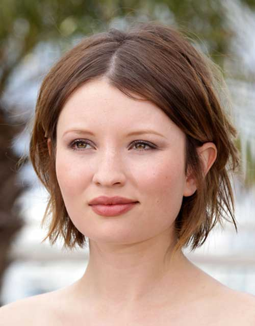 short hairstyles for round faces womens fave hairstyles