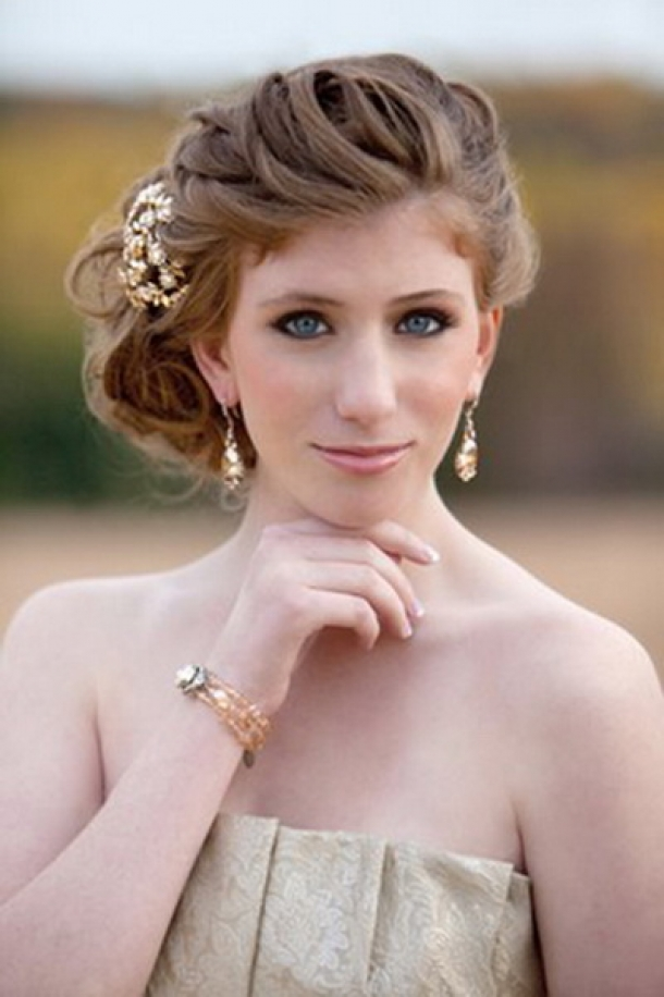 Short Wedding Hairstyles..
