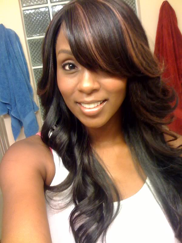 Long Sew in Weave Hairstyles