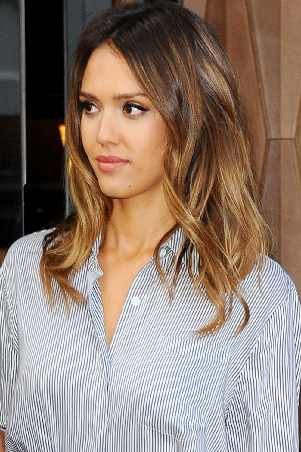 medium length hairstyles brown