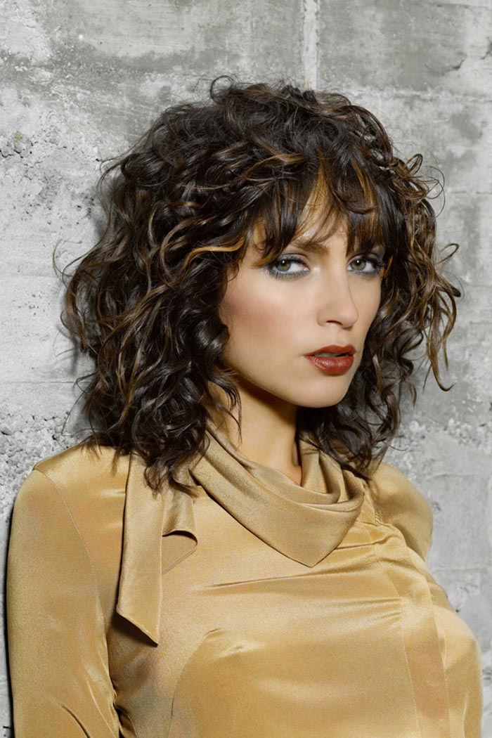 layered haircuts for curly hair with bangs 60 curly hairstyles to look youthful yet flattering 4653
